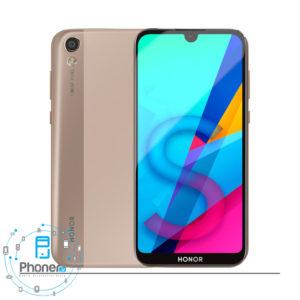 رنگ طلایی گوشی موبایل Huawei KSA-LX9 Honor 8S