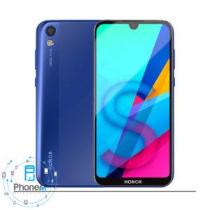 رنگ آبی گوشی موبایل Huawei KSA-LX9 Honor 8S