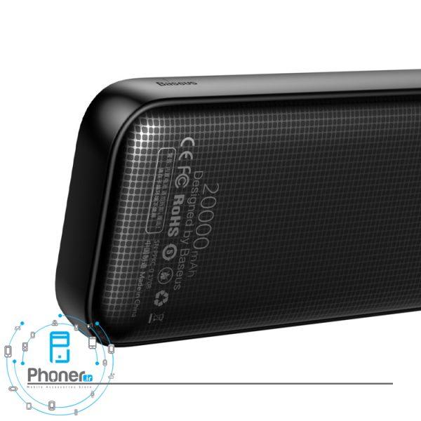 نمای پشت پاوربانک PPKC-A02 Portable Battery