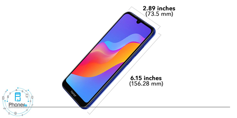 ابعاد گوشی موبایل Huawei JAT-L41 Honor 8A