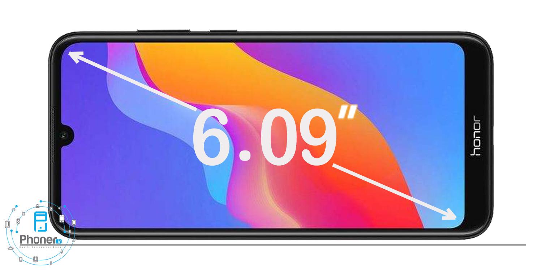 ابعاد صفحه نمایش گوشی موبایل Huawei JAT-L41 Honor 8A