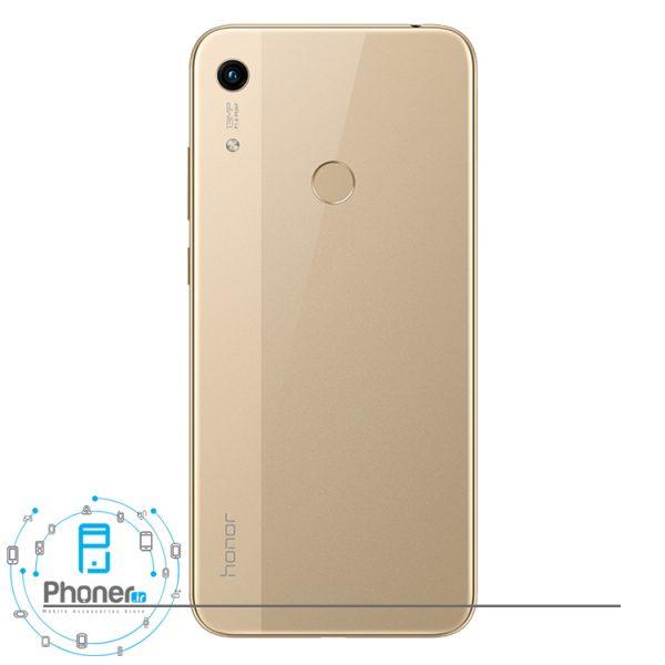 نمای قاب پشتی گوشی موبایل Huawei JAT-L41 Honor 8A رنگ طلایی