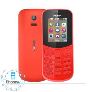 رنگ قرمز گوشی موبایل TA-1017 Nokia 130