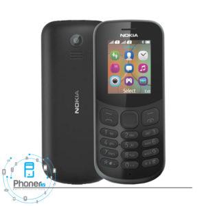 رنگ مشکی گوشی موبایل TA-1017 Nokia 130