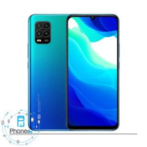 رنگ آبی گوشی موبایل Xiaomi Mi 10 Lite 5G