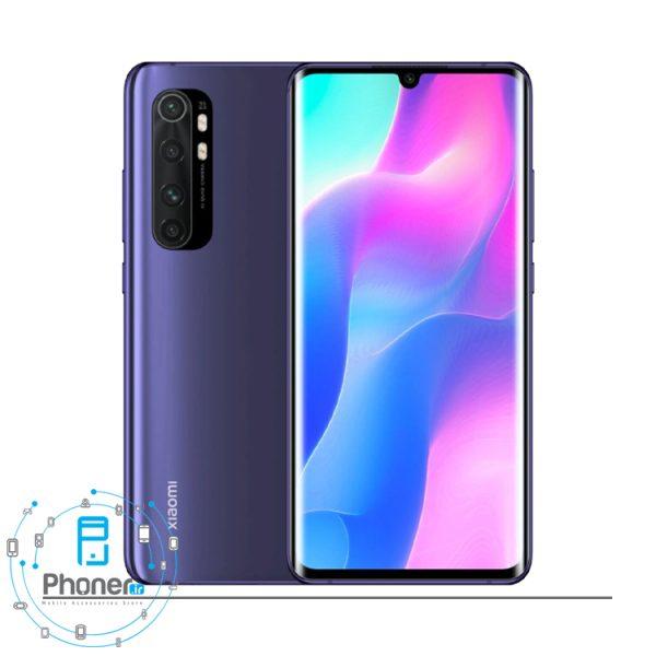 رنگ بنفش گوشی موبایل Xiaomi Mi Note 10 Lite