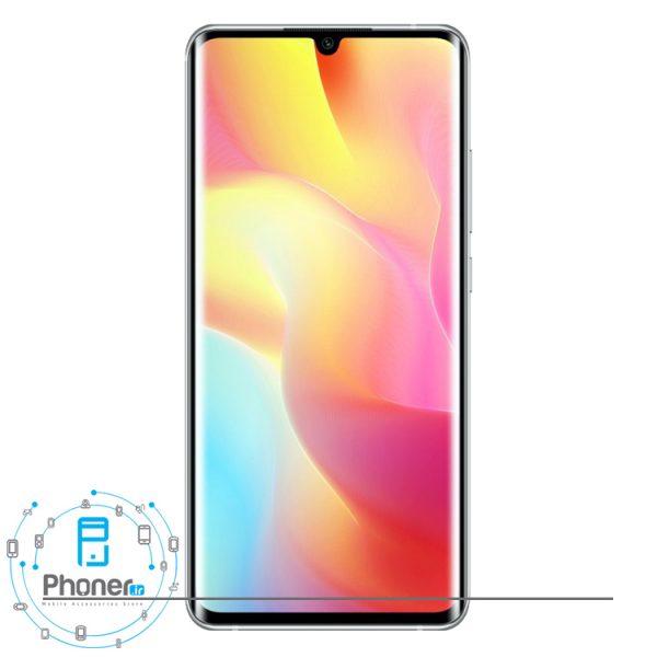 صفحه نمایش گوشی موبایل Xiaomi Mi Note 10 Lite رنگ سفید