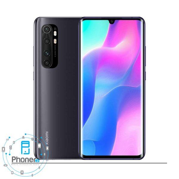 رنگ مشکی گوشی موبایل Xiaomi Mi Note 10 Lite