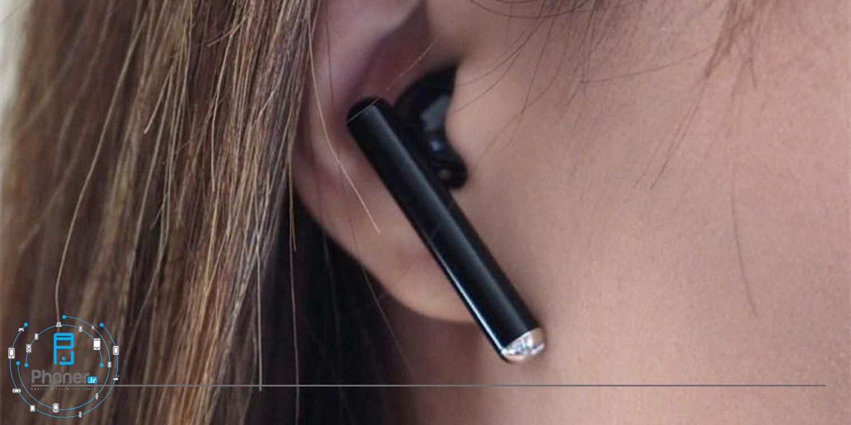 نحوه قرارگیری هندزفری بلوتوثی Huawei Freebuds 3 در گوش