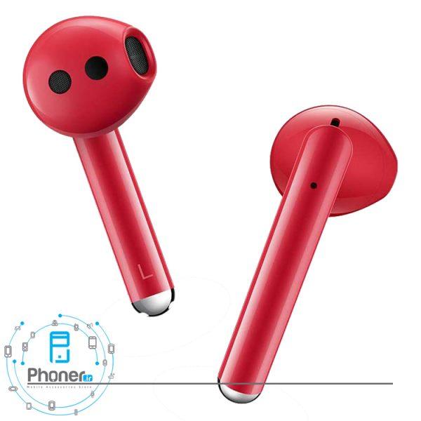 هدفون های هندزفری بلوتوثی Huawei Freebuds 3 رنگ قرمز