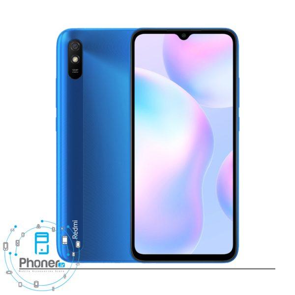 رنگ آبی گوشی موبایل Xiaomi Redmi 9A