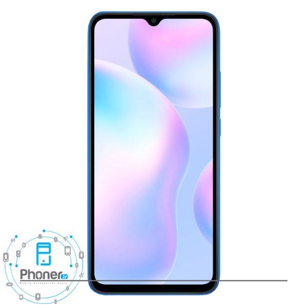 صفحه نمایش گوشی موبایل Xiaomi Redmi 9A رنگ آبی