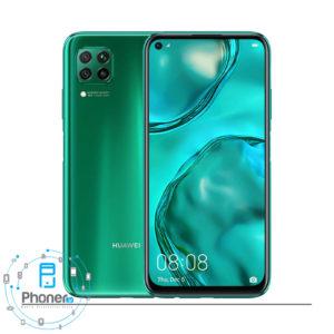 رنگ سبز گوشی موبایل Huawei JNY-LX1 nova 7i