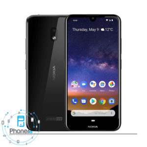 رنگ مشکی گوشی موبایل TA-1188 Nokia 2.2