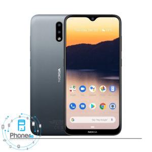 رنگ خاکستری گوشی موبایل TA-1206 Nokia 2.3