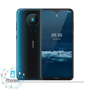 رنگ آبی گوشی موبایل TA-1234 Nokia 5.3
