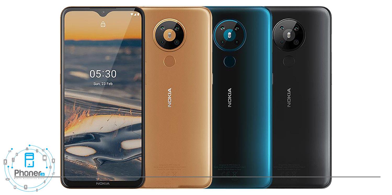 رنگبندی گوشی موبایل TA-1234 Nokia 5.3