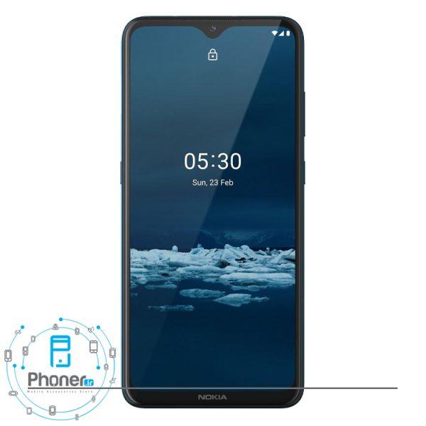 صفحه نمایش گوشی موبایل TA-1234 Nokia 5.3 رنگ آبی