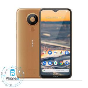 رنگ طلایی گوشی موبایل TA-1234 Nokia 5.3
