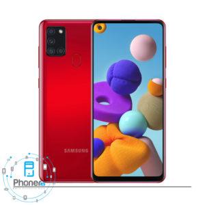 رنگ قرمز گوشی موبایل Samsung SM-A217F/DS Galaxy A21s