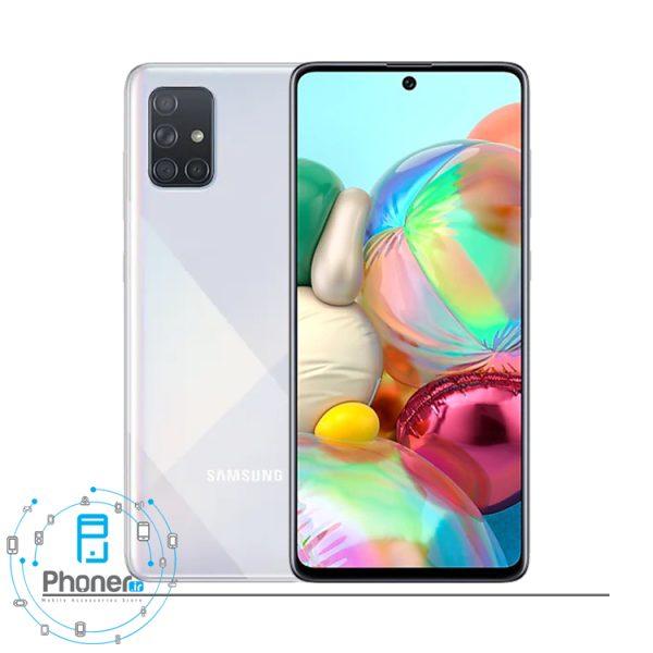رنگ سفید گوشی موبایل Samsung SM-A715F/DS Galaxy A71