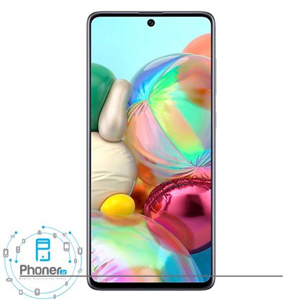 صفحه نمایش گوشی موبایل Samsung SM-A715F/DS Galaxy A71 رنگ سفید