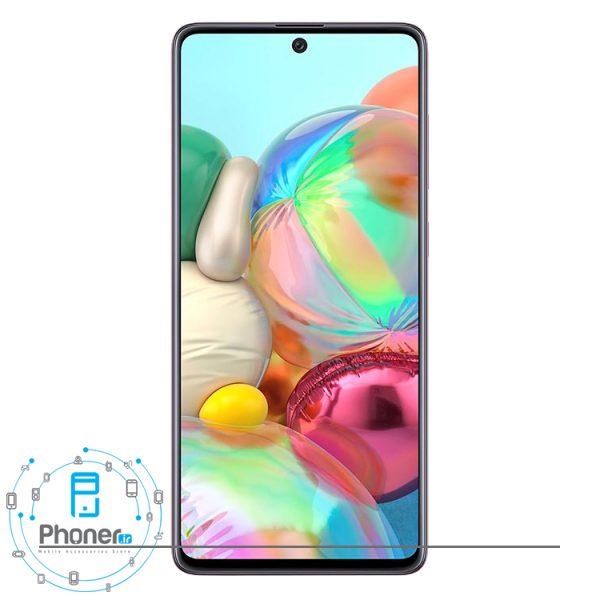 صفحه نمایش گوشی موبایل Samsung SM-A715F/DS Galaxy A71 رنگ صورتی