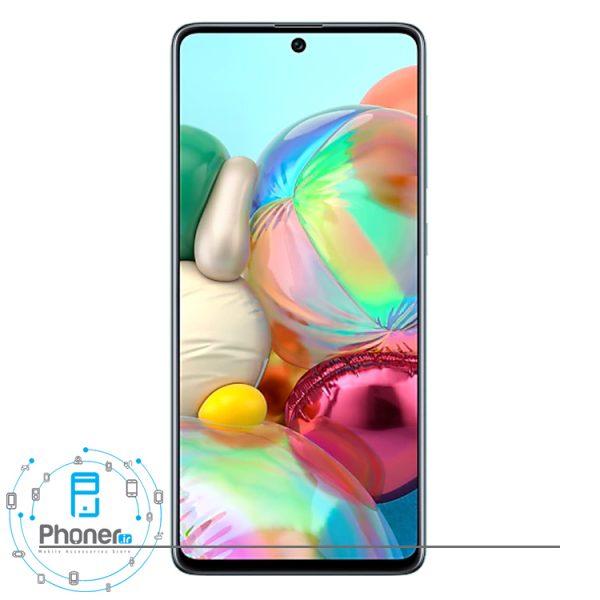 صفحه نمایش گوشی موبایل Samsung SM-A715F/DS Galaxy A71 رنگ آبی