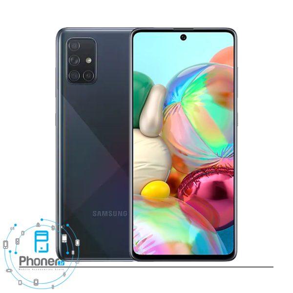 رنگ مشکی گوشی موبایل Samsung SM-A715F/DS Galaxy A71