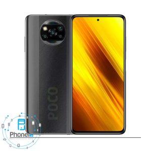 رنگ مشکی گوشی موبایل Xiaomi Poco X3
