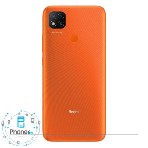 قاب پشتی گوشی موبایل Xiaomi Redmi 9C رنگ نارنجی