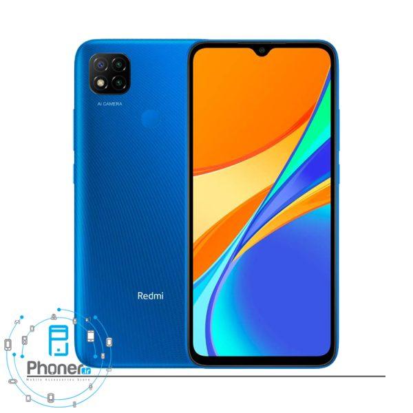 رنگ آبی گوشی موبایل Xiaomi Redmi 9C