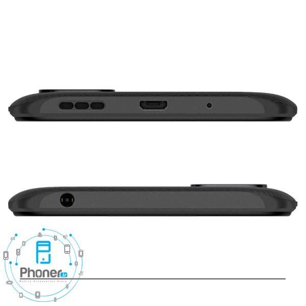 نمای بالا و پایین گوشی موبایل Xiaomi Redmi 9C