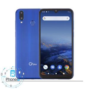 رنگ آبی گوشی موبایل G Plus GMC-636 Q10