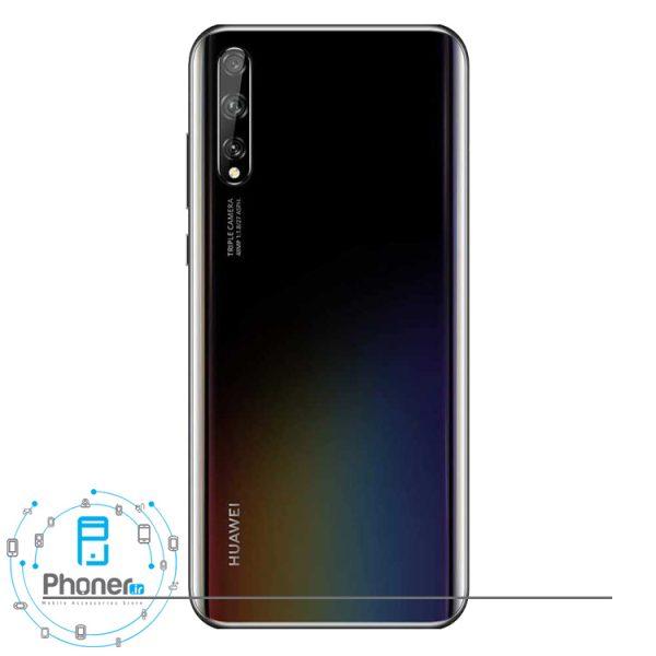 قاب پشتی گوشی موبایل Huawei AQM-LX1 Y8p رنگ مشکی