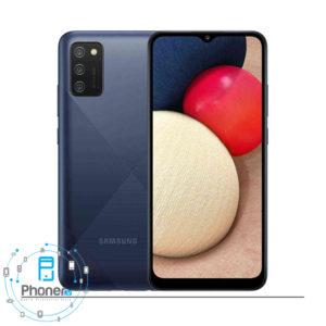 رنگ آبی گوشی موبایل Samsung SM-A025F/DS Galaxy A02s