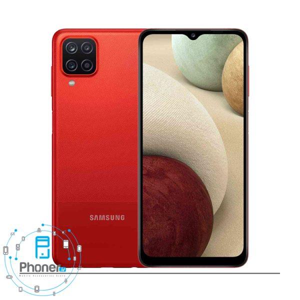 رنگ قرمز گوشی موبایل Samsung SM-A125 Galaxy A12