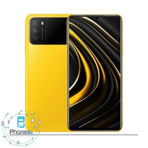 رنگ زرد گوشی موبایل Xiaomi Poco M3