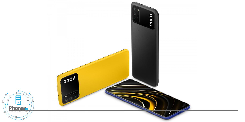 طراحی مدرن گوشی موبایل Xiaomi Poco M3