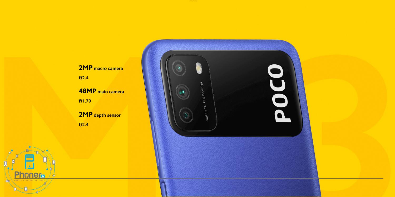 دوربین گوشی موبایل Xiaomi Poco M3