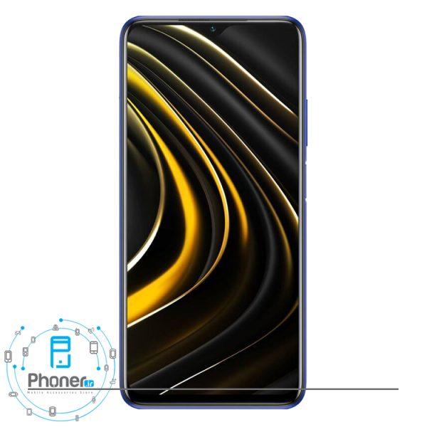 صفحه نمایش گوشی موبایل Xiaomi Poco M3 رنگ آبی