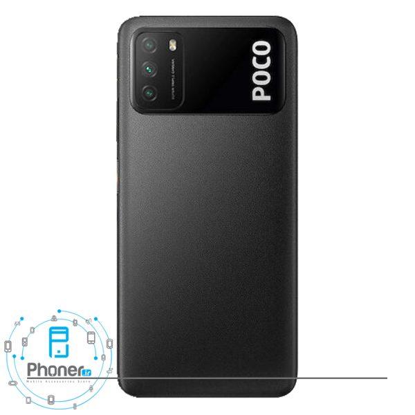 قاب پشتی گوشی موبایل Xiaomi Poco M3 رنگ مشکی