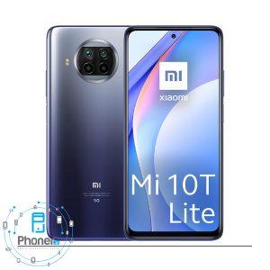 رنگ آبی گوشی موبایل Xiaomi Mi 10T Lite 5G