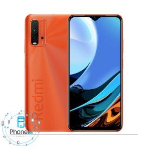 رنگ نارنجی گوشی موبایل Xiaomi Redmi 9T
