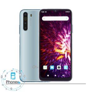 رنگ سفید گوشی موبایل G Plus GMC-667K X10
