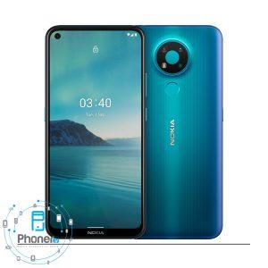 رنگ آبی گوشی موبایل TA-1288 Nokia 3.4