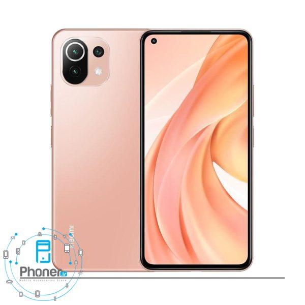 رنگ صورتی گوشی موبایل Xiaomi Mi 11 Lite