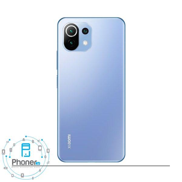 قاب پشتی گوشی موبایل Xiaomi Mi 11 Lite در رنگ آبی