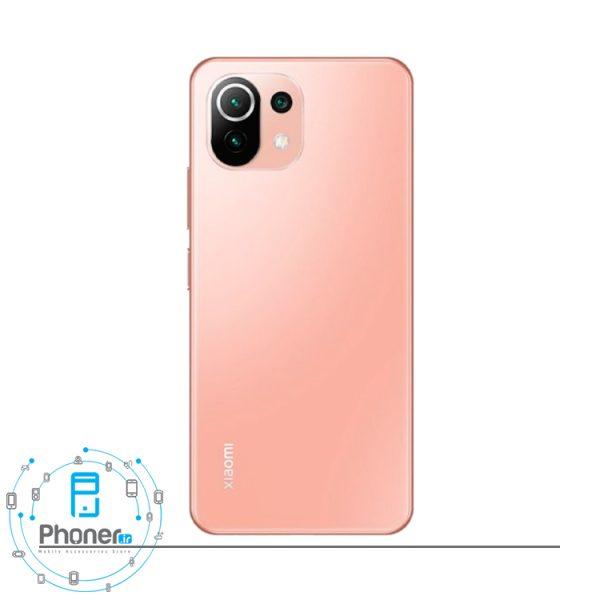 قاب پشتی گوشی موبایل Xiaomi Mi 11 Lite در رنگ صورتی