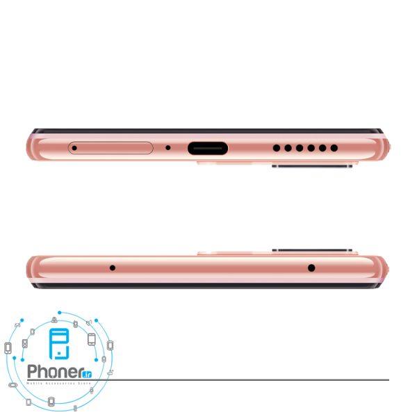 نمای بالا و پایین گوشی موبایل Xiaomi Mi 11 Lite